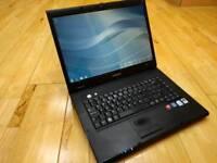 Samsung r60 plus laptop intel celeron 2ghz 2g ram 114g hardbdrive