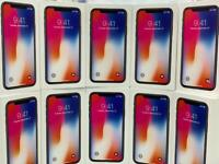 iPhone X 64gb 256gb box warranty Open on all sim Come with box