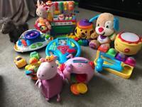 Amazing bundle of 14 baby/toddler toys!!!