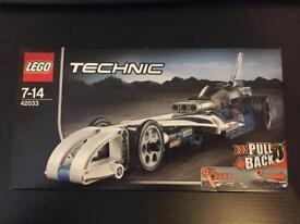 LEGO Technics Drag Racer