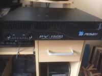 Peavey pro 1500 amplifier