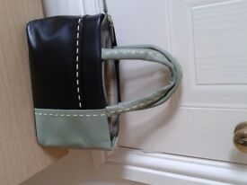 Small Green and Black Radley handbag
