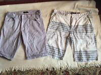 2 Items men's short size 32/33 used good condition £3 both