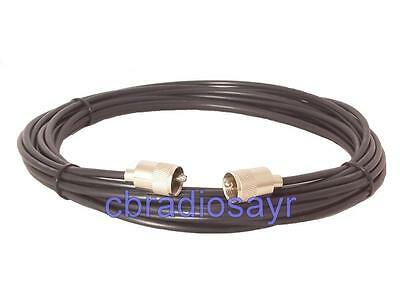 RG58 Coaxial Cable Patch Lead for CB Radio Antennas Aerials- 5 metre in Length