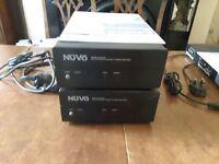 NuVo 2x High Efficiency 200 Watt Stereo Amplifiers NV-P2100-EX