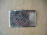 Vintage Cigarette Case. Made by Permoid. 9 x 14cm