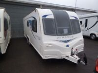 Bailey Pegasus GT65 Bolonga 2013 Twin Axle 4 Berth Caravan with Power Touch Motor Movers