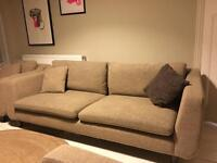Ashley Manor Whistler large sofa plus two matching armchairs