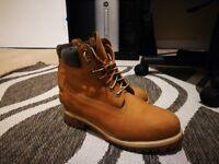 Timberland Boots Mens Size 8 Original Tan colour