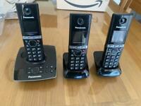 Panasonic KX-TG2721E 3 Cordless Phones