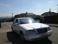 mercedes c200 1994 auto with private plate C20OHW MOT may 2017