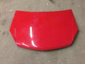 Astra H bonnet off a VXR in red