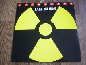 UK-SUBS-COUNTDOWN-7-NEMS-1981-NEAR-MINT-BARELY-PLAYED
