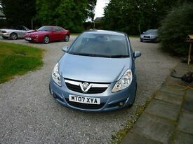 corsa design like new cd plyer etc service history