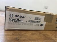 BOSCH PPP616B91E 4 BURNER BLACK GAS ON GLASS HOB brand new and sealed
