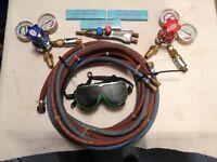 Oxy & Acetylene Gas Welding Set