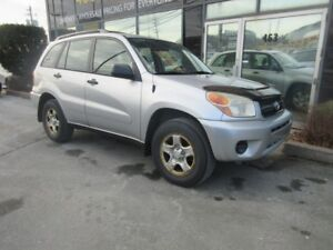2005 Toyota RAV4 4WD SUV WITH ONLY 141KMS