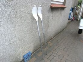 124cm Long Brand New Oars (Dinghy)