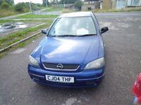 OPEL ASTRA/ Vauxhall 2004(04) 1.4 16v Mot till june 2017