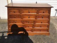 Stunning new 15 drawer chest