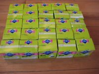 Bodyform so slim single wrap liners joblot of 25 packs