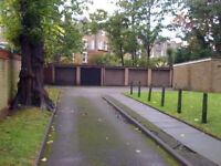 A secured lock-up Garage in Manor House N4 is to let.