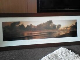 PICTURE DISTANT SHORES 39 X 15 INCHES