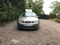Diesel, 6 speed gear, Saab 9-3 vector sport TID 8V for sale, MOT, service history, drives perfect.