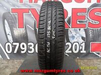 AC.136 1X 175/80/14 88T 1X5MM TREAD CONTINENTAL ECO CONTACT3 - USED TYRE