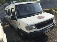 2003 53 plate ldv minibus van mini bus VERY low mileage with service history long mot great driver