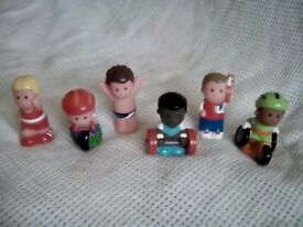 Happyland figures selling as a job lot