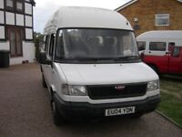 LDV Minibus,low miles 66,000,new mot,one previous owner,