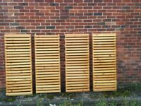 Large Solid Pine Heavy Duty Racking/Shelving x 4