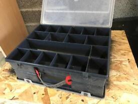 Double sided storage box.