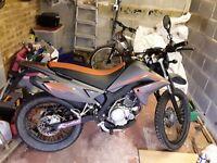 Malaguti X3M 125r (Yamaha XT 125)