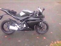 Yamaha yzf r125 abs 64 plate yzfr125 mt125 mt 125 4 stroke fuel injected honda suzuki kawasaki