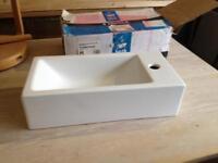 Bath store soho rectangular bathroom sink