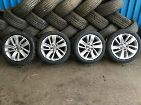 "VAUXHALL ASTRA J 18"" ALLOY WHEELS 2010 11 12 13 14"