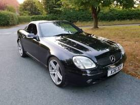 Mercedes slk 320 black