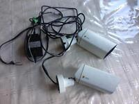 ENEO CCTV INFRA RED NIGTH VISION CAMERAS WITH WIRES SMETHWICK £20