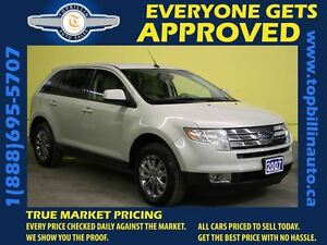 2007 Ford Edge SEL Plus * AWD * LEATHER * 2 Years Warranty *