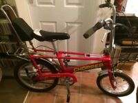 RALEIGH CHOPPER III IMMACULATE PAINTWORK GOOD CONDITION