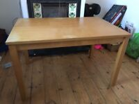 Used Dining Table for Sale. Seats 6.