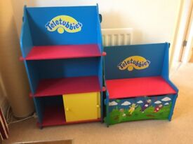 TELETUBBIES BEDROOM FURNITURE IN GOOD CONDITION FROM A NON-SMOKING HOME