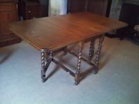 1950's Drop Leaf Table