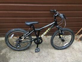 Kids Bike Ridgeback MX20 Black (5 - 8 Yrs)