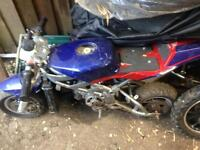 Blata water cooled mini moto replica spares repairs