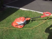 FLYMO MOW AND VAC ELECTRIC HOVER MOWER WITH GRASS COLLECTION BOX £15