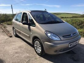 CITROEN XSARA PICASSO EXCLUSIVE AUTO 2.0 BEIGE 2003 LOW MILES