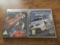 PS3 NEED FOR SPEED HOT PURSUIT & SHIFT